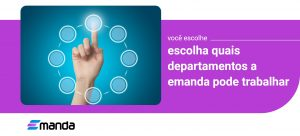 Read more about the article Escolha quais departamentos a Emanda pode trabalhar